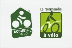 logo accueil vélo Normandie